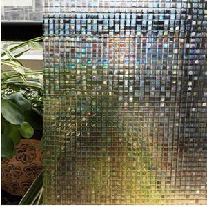 CottonColors Window Privacy Films Película adhesiva estática 3D sin pegamento, Pegatinas de vidrio para ventana, tamaño 60 x 200 cm
