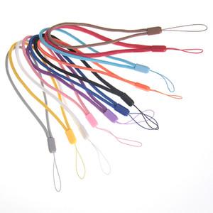 Correas redondas de nylon de buena calidad baratas y coloridas Soporte de cordón de muñeca de mano para cámara digital Unidad flash usb mp5 Estuche para teléfono inteligente Lanyard 500