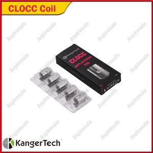 Autentico Kanger CLOCC Bobine di ricambio Ni200 TC 0.15ohm SS316L 0.5ohm 1.0 / 1.5ohm Bobina di testa per Kangertech CLTANK