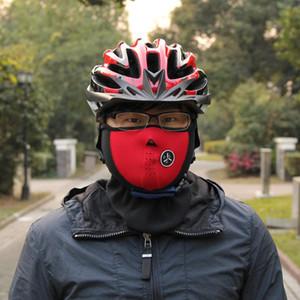 Fahrrad Radfahren Motorrad Halbe Gesichtsmaske Winter Warme Outdoor-Sport Ski Maske Fahrt Bike Cap CS Maske Neopren Snowboard Hals Schleier