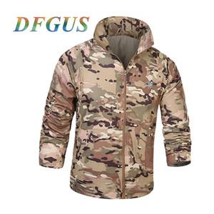 US Army Tactical Militar Skin Jacket Men UPF50 + Waterproof Fast Dry Outdoors Raincoat Windbreaker Thin Military Camo Jacket