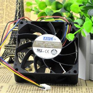 Freies verschiffen AVC DBTA0825B2U 8025 8 cm 80mm DC 12 V 0,54A Computer fall kühler fan