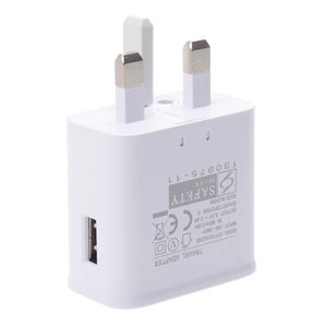 UK Plug 5V 2A AC EP-TA10UWE Single USB Port Smart Phone Wall Charger for Samsung Galaxy NOTE4 S7 S8 S9 good quality 150pcs lot