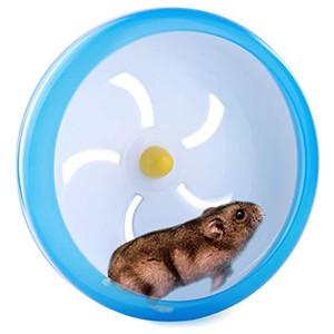 SunGrow Hamster Spinner Wheel للماوس والحيوانات الأليفة الصغيرة مريحة لعبة تمرين الغزل مثالية للجربوع ، الفئران وخنازير غينيا