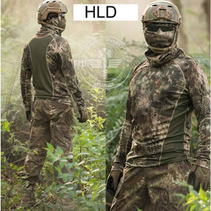 Tactical Hunting T Shirt Camping Hiking Wild Survival Clothing Airsoft Outdoor Sports Gear