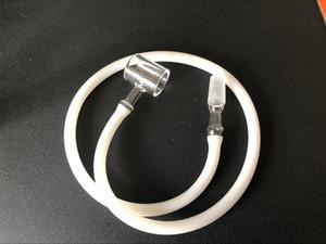 14mm / 18mm Glasadapter mit 600mm Silikonglasaufsatz für Dr. dabber boost / 510 nagel / H enail / Dabado / Mr dabber, Glasbong