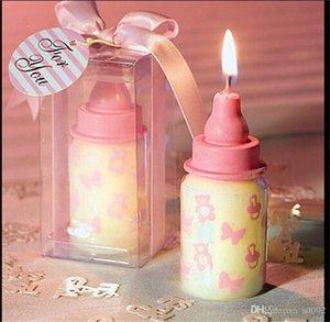 Yenilik Bebek Doğum Günü Hediyesi Mum Çocuklar Karikatür Kek Biberon Şekil Mumlar Pişirme Malzemeleri Birçok Renkler 3 5gf ZZ