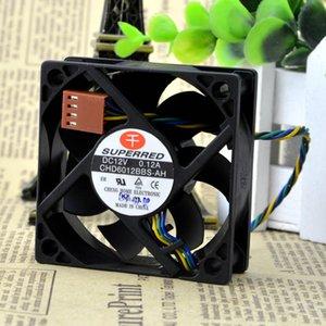 Per Qianhong CHD6012BBS-AH 12V 0.12A 6CM 6020 Ventola CPU con controllo della temperatura PWM a quattro fili