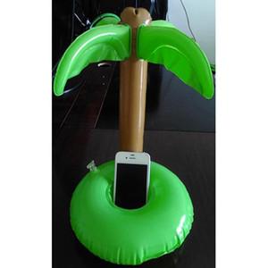 Şişme Havuz Şamandıra Luau Palm Tree İçecek Şişe Tutucu Cep Telefonu Yüzme Havuzu Aksesuarları Yüzme Bebek Oyuncakları Set
