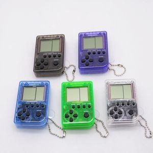 테트리스 게임 콘솔 8088 어린이 장난감 트위스트 계란 게임 박스 캔 스토어 26 게임 미니 휴대용 포켓 클래식 퍼즐 게임