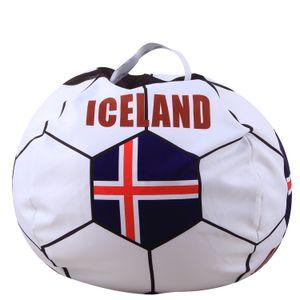 Mondiali di calcio 32 Cartoni Nuova peluche sacchetti di immagazzinaggio Fans Sgabello mezzo di stampa disegni di stampa digitale di archiviazione Bag paese 3D