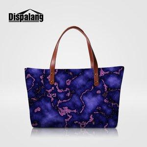 Марка Дизайнер Топ-ручка сумки мраморных Printing Женские сумки женские Summer Beach Bag Girls Party Повседневный Доставка Tote Ручная сумка падения