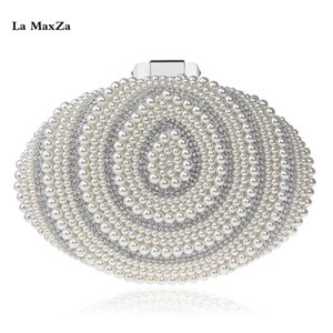 Lady Fashion Pochette La MaxZa Fashion Design Donna Borse di alta qualità sera borse Trendy piccola frizione della borsa