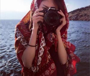 Der neue Sonnenschutz Sonnenschutz Oversize-Schal Frauen Urlaub Seidenschal Seidenschal
