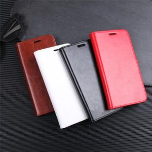 venta al por mayor para Samsung Galaxy J7 Duo Estuches Wallet Card Stent Book Style Funda de cuero con tapa protectora negra para SM J7Duo