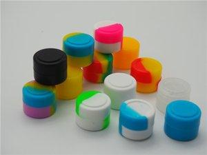 2ml 좋은 재사용 가능한 실리콘 왁스 박스, 실리콘 항아리 컨테이너 실리콘 연락기 왁스 실리콘 용 왁스 DAB 컨테이너 용