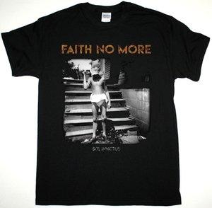 Faith No More Sol Invictus 2015 Майк Паттон супергерой Fnm новая черная футболка мультфильм футболка с коротким рукавом бренд