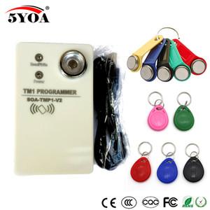 TM RFID Copiadora Duplicadora portátil RW1990 TM1990 TM1990B ibutton DS-1990A I-Botão 125KHz EM4305 T5577 Leitor de Cartão EM4100 TM