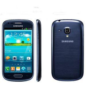 Reformado original Samsung I8190 Galaxy SIII 480 x 800 teléfono móvil Galaxy S3 mini teléfono celular de doble núcleo 1500 mAh Android Teléfono 002868