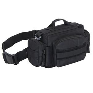 Impermeabile Militari Uomini Fanny Assault Molle Bag Sling Chest Back Day Pack Alta qualità 1000D Nylon Belt Hip Bum Marsupi Nuovo