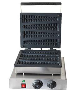 Électrique 4pcs antiadhésive Lolly Waffle machine à gaufres Baker Baker antiadhésive gaufrier livraison gratuite 110v / 220v