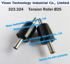 323.324 Ø25mm edm Tension Roller A504, 323.324.4 Pulley wire pick up d=25mm for Agie AC100-AC300 series wirecut edm machines edm spare parts