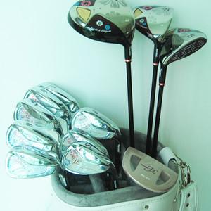 venta al por mayor New lady Compelete conjunto de clubes Maruman FL Clubes de golf Driver + fairway wood + irons + Putter Graphite Golf eje envío gratis