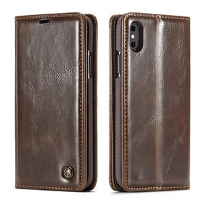 CaseMe Кошелек Чехол для iphone 5 5s SE 6S 7 8 X Plus с подставкой Кожаная откидная крышка Телефон Кредитная карта для iphone Xs XR Xs Max Обложка для денег
