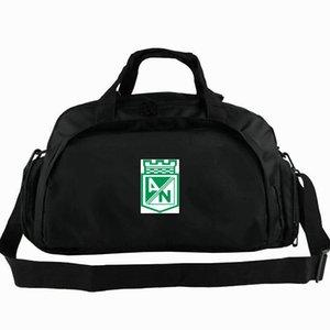 Medellin spor çantası Atletico Nacional kulübü tote Futbol 2 yönlü kullanım sırt çantası Futbol takımı bagaj Spor omuz duffle Açık sling paketi