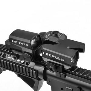 LEUPOLD Doppeltes optisches Zielfernrohr D-EVO CMR-W-Fadenkreuz mit LCO-Rotpunktvisier Holographisches Zielfernrohr für die Jagd