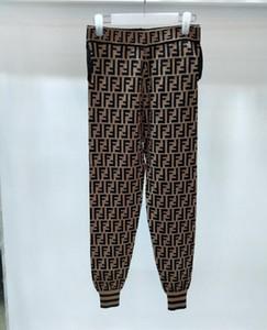 2018 Verano libre nuevo nuevo estilo caliente al por mayor de París estilo de la pista de moda de estilo occidental de Occident Print Letter Women's Pants Capris