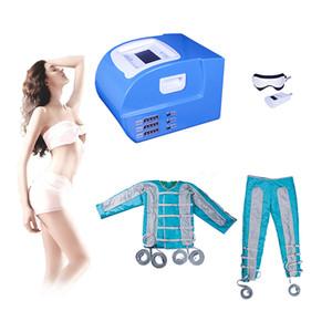 2019 Pressotherapy Lymphe Drainage Machine Sauna ems stimulation musculaire air vague pression detox bouton ems minceur corps minceur costume