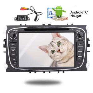 EinCar Android 7.1 sistema de Navegação GPS 7 '' Navi Mapa Do Carro DVD Player no Veículo Headest Caroteca Estéreo Auto Rádio 1080 P Link Espelho