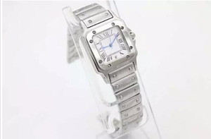 Luxury Ladies Quartz Watch reloj de pulsera de acero inoxidable 071 envío gratis lady watches correa de reloj de plata regalos de Navidad