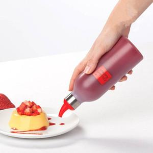Cucina Ketchup Spremuta Bottiglia Marmellata Bottiglia Cottura Insalata Condimento Salsa Vaso Aceto Salsa marinata Materiale pentola 2777