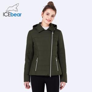 ICEbear 2018 nuovo risvolto donne giacca casual moda donna cappotti di alta qualità caldo confortevole primavera abbigliamento donna GWC18001D
