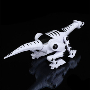 Electric Dinosaur for Children Walking Robot Roaring Interactive Dinosaur Toy with Music Light and Sound Effects Intelligent Toy