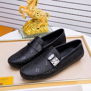 2018 İlkbahar Yaz Erkekler Düz Ayakkabı Yumuşak Inek Deri Erkek Moccasin Sürüş Loafer'lar Ayakkabı Rahat Tasarımcı Ayakkabı Ücretsiz Kargo