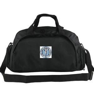 CSMS Iasi duffel çanta Romanya kulübü tote Futbol sırt çantası Egzersiz bagaj Futbol spor omuz duffle Açık sling paketi