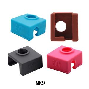 1 PZ MK9 Custodia per la copertura del silicone protettiva per il blocco del riscaldatore di CREEALITY CR-10,10S, S4, S5 ANET A8 MK7 / MK8 / MK9 Hot End Sock
