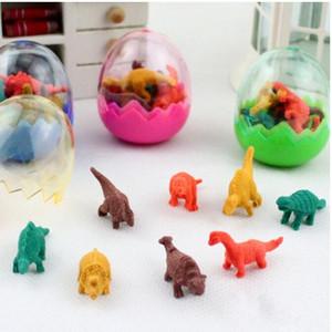Cartoon Dinosaur Egg Eraser Erasers MINI Rubber colors assorted School Supplies