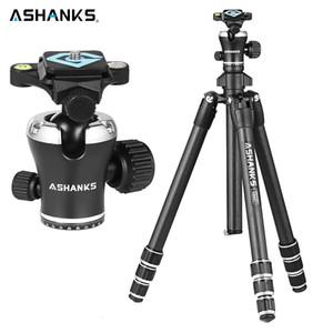 Venda Por Atacado tripé de câmera de carbono a666c 8kg 55,1 '' / 140 centímetros tripé de vídeo profissional com dslr videodee cabeça de bola de tripé para fotografia