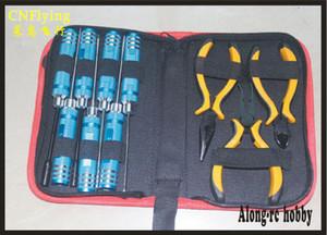 free shipping: Repair RC Hobby model Tools 10 in 1 tools bag for Airplane RC Car Boat X-UAV Assemble TOOLS