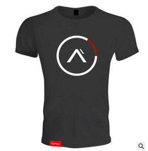 Estate Stampato Mens T-shirt Muscle Gym Fitness Training traspirante Abbigliamento Bodybuilding Camicie Allenamento T plus dimensione per Mens Forti