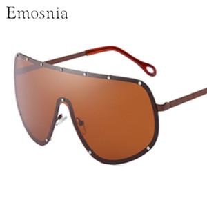 Emosnia extragrandes Série Unisex piloto óculos polarizados Oculos 2019 Mulheres Vintage Men Marca óculos de sol UV400