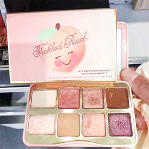 2020 marchio cosmetico Faced biscotto di zucchero o Tickled Peach Mini ombretto Make Up Palette vacanze Chirstmas tavolozza ombretto 8color