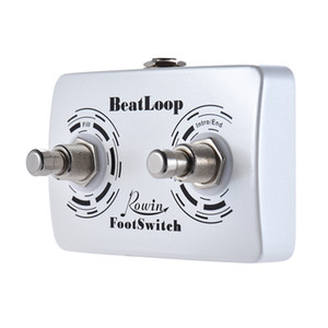 Rowin BeatLoop Dual Footswitch Guitar Pedal Foot Switch Pedal for Rowin BEAT LOOP Recording Effect with 6.35mm Cable
