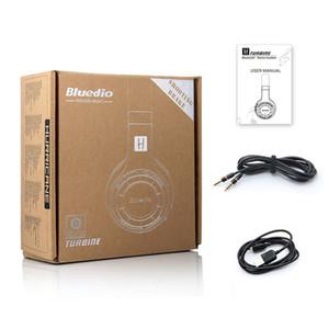 100% Orijinal Bluedio HT (çekim Fren) bluetooth kulaklıklar BT4.1Stereo bluetooth kulaklık telefonları için kablosuz kulaklıklar müzik En Kaliteli