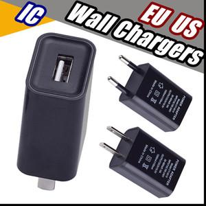 2018 EUA Plug UE Carregadores de Parede USB Adaptador de Viagem 5 V1A IC Conveniente adaptador de energia AC para samsung sony htc huawei xiaomi lg free grátis