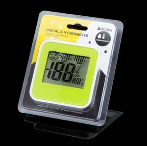 Digital Thermometer Hygrometer LCD Display Indoor temperature Sensor & humidity Meter Moisture Meter Green & White SN1460